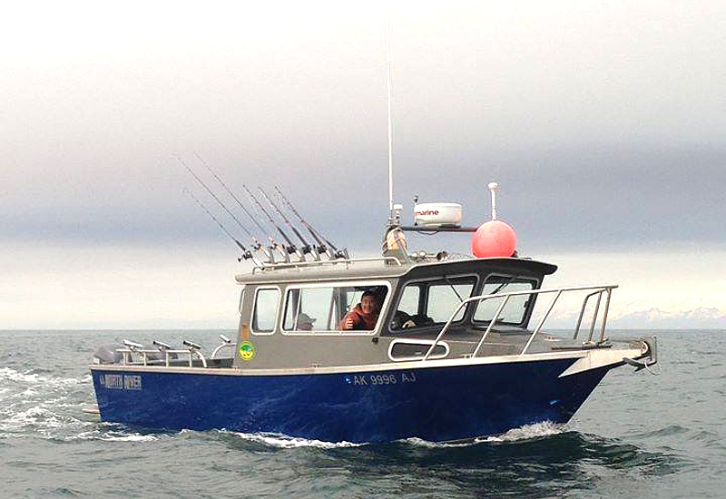 "The ""A&M"" a Gotta Fish Charters halibut fishing boat"