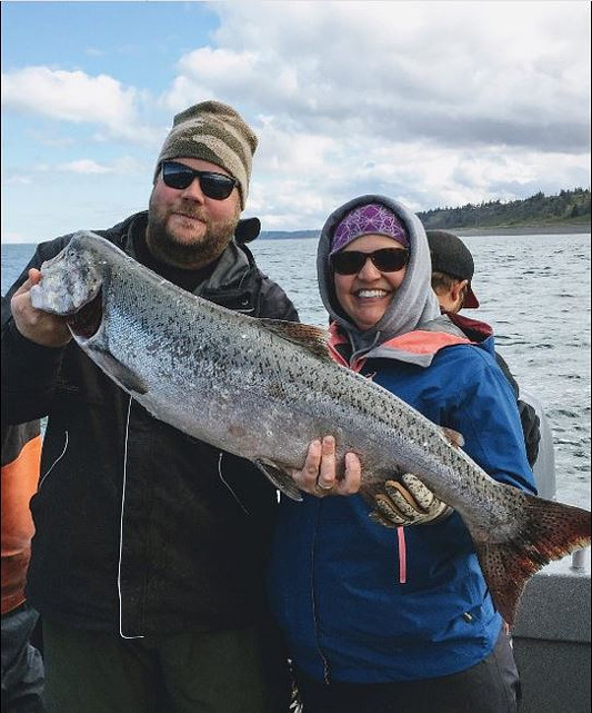 King salmon with Gotta Fish Charters